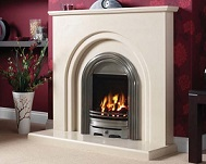 Chester Gas Fire and Fireplace